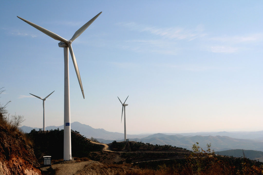 Tangshanpeng Wind Farm.