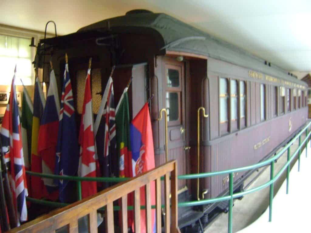 Rethondes Wagon de l'Armistice.