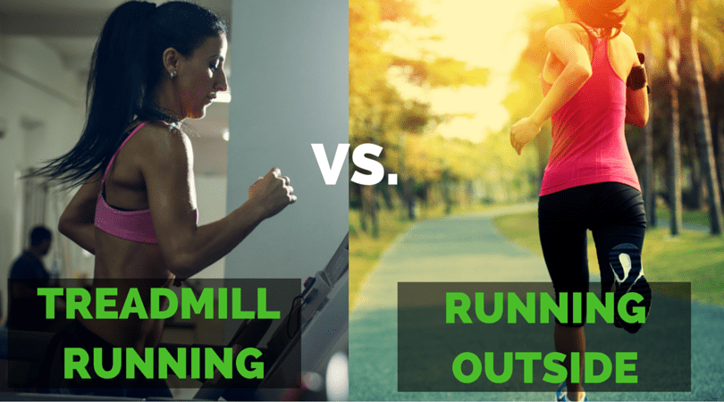 treadmill vs running outside