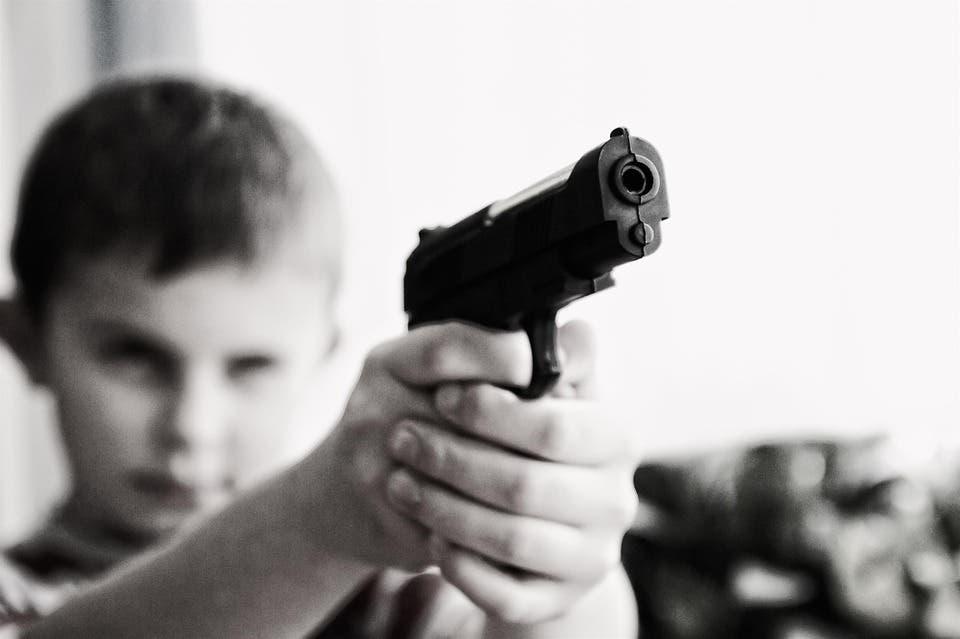 gun-related violence children