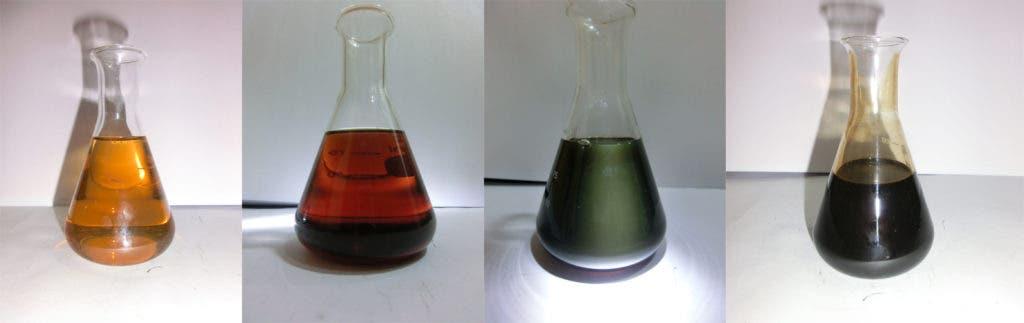 Crude oils.