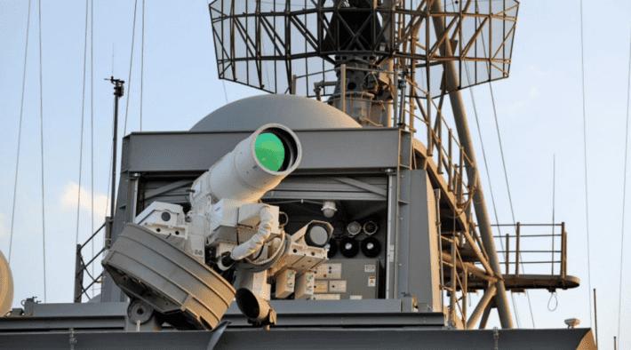 Laser gun Navy.