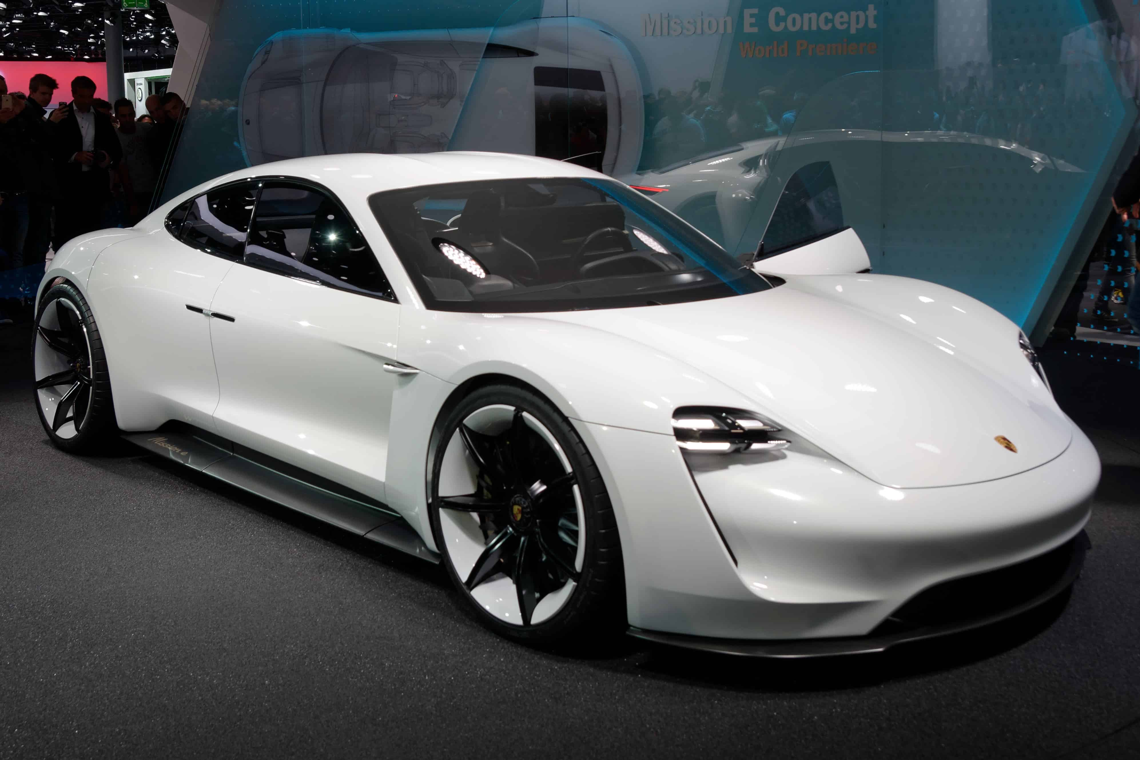 Porsche announced it wants half of its cars to be electric by 2023