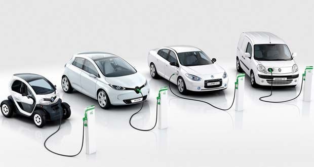 Renault electric cars. Credit: Renault.