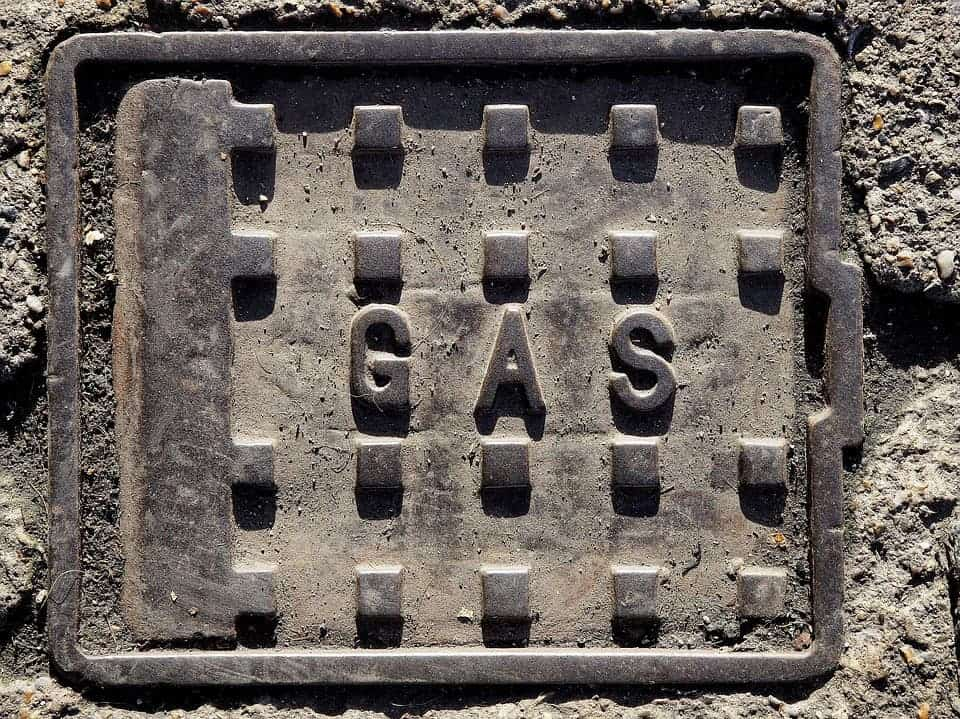 Gas Cover.