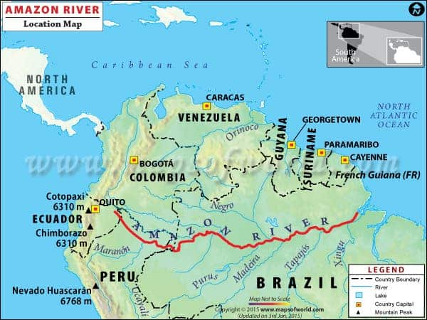 What Is The Longest River In The World Thats Surprisingly Debatable - World rivers by length