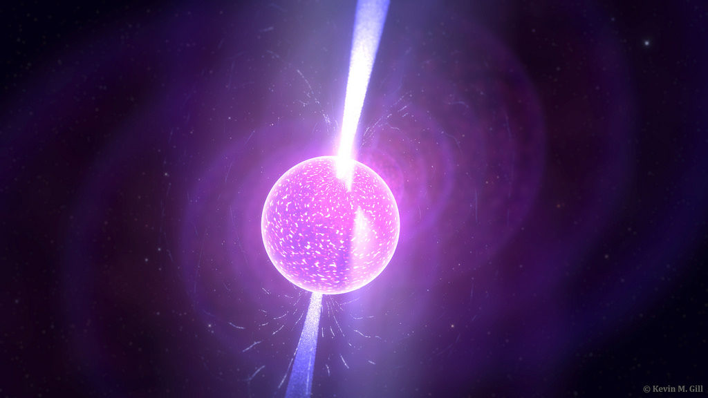 Neutron star.