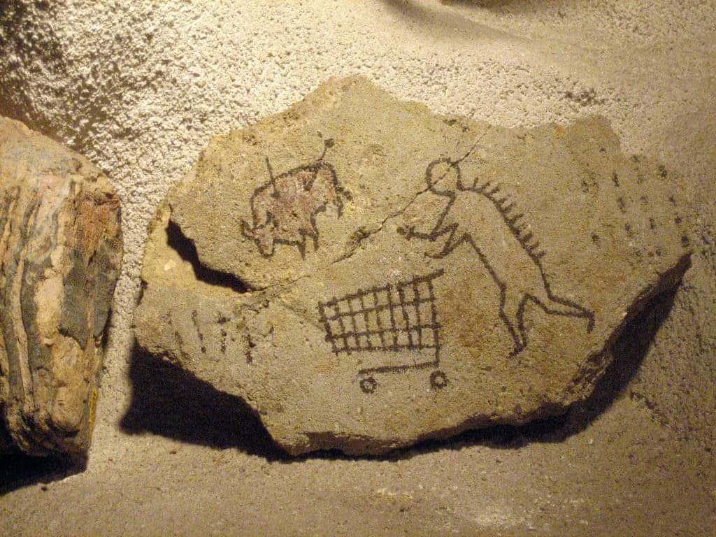 Stone age trade.