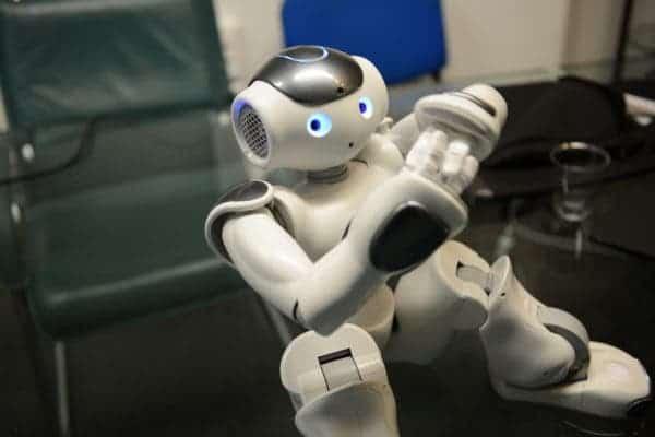 NAO robot.