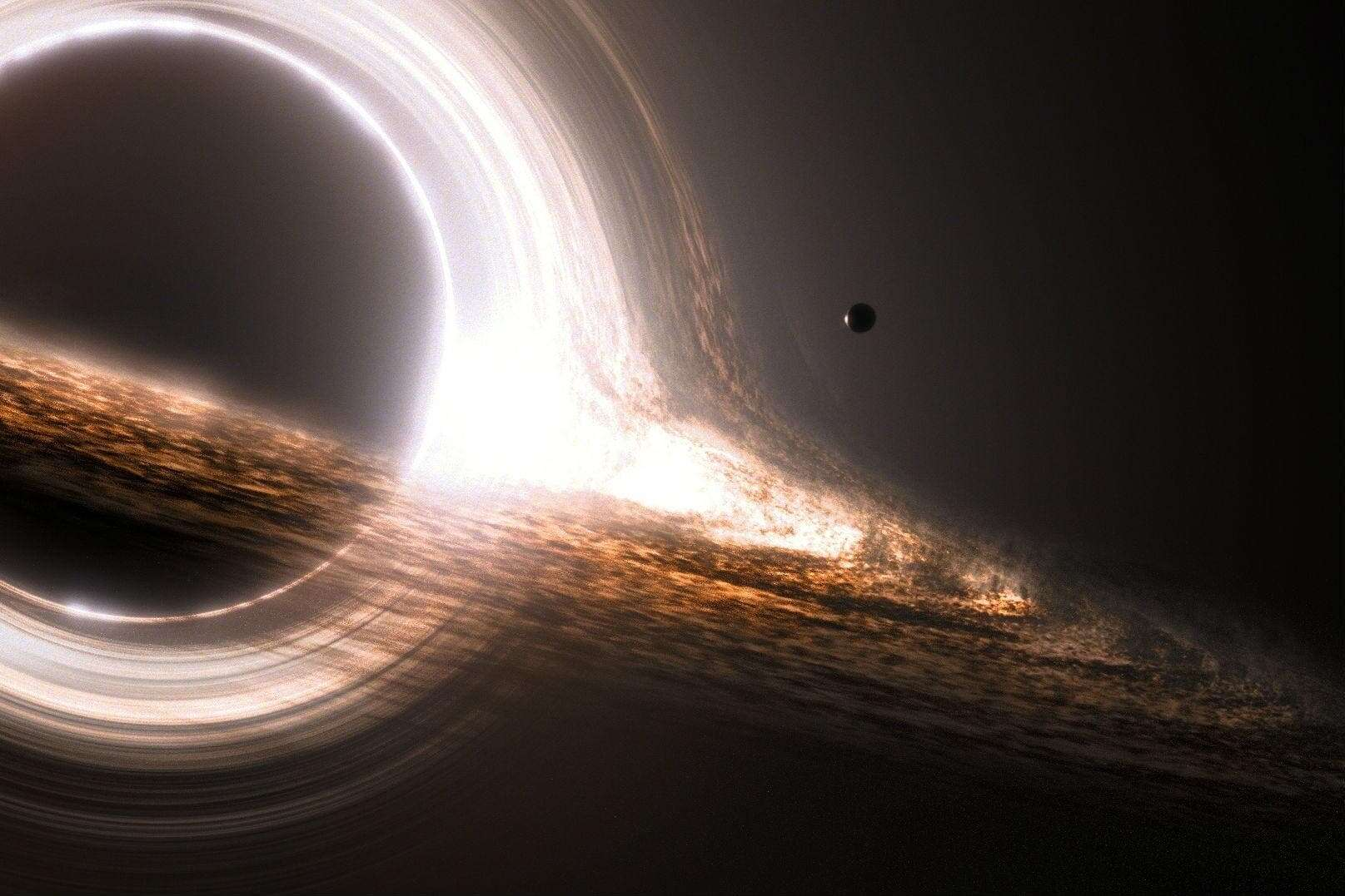 horizon lies on a tiny black hole - photo #8