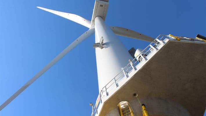 Burbo Bank Turbine.
