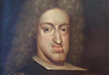 Painting of Charles II of Spain (6 November 1661 – 1 November 1700).
