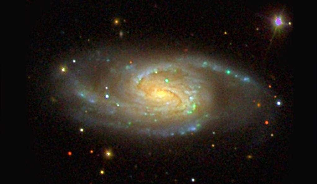 One of the Milky Way's sibling as seen by the Sloan Digital Sky Survey.