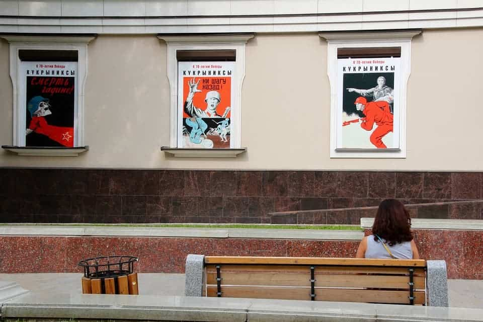 Moscow posters.