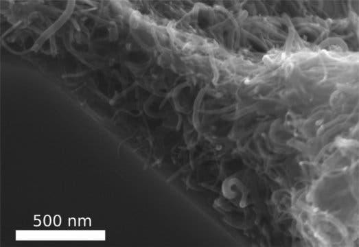 Nanotube felt.