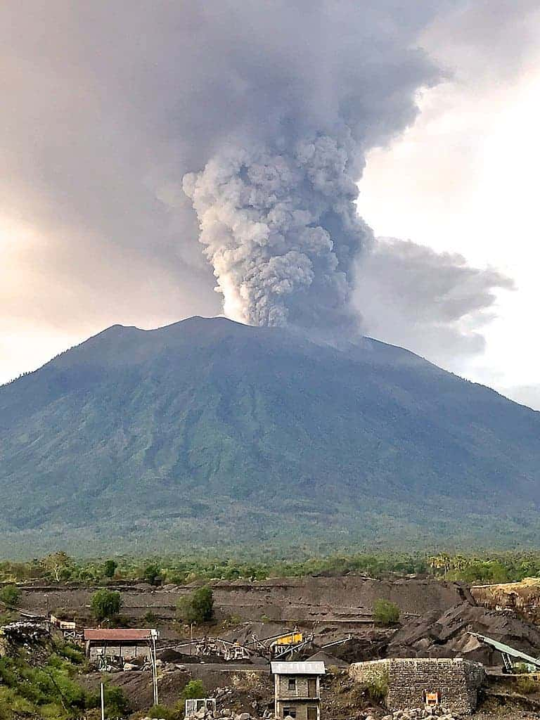 Volcano in Bali has been erupting for over a week, and things might ...