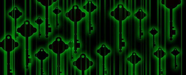 quantum keys