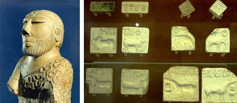 Indus valley artifacts.