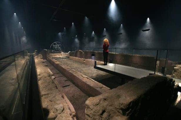 Mithraeum London.