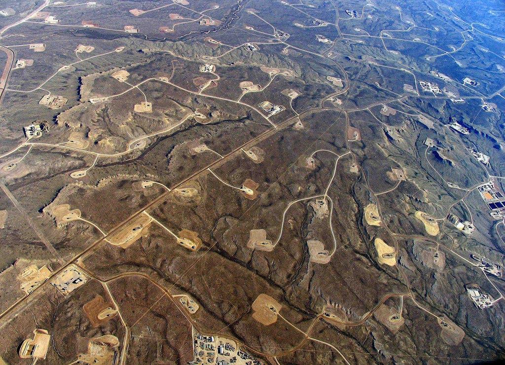 Heavy fracking.