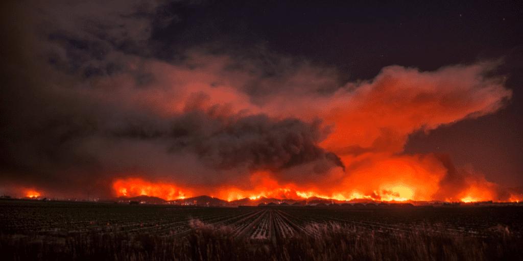 Ventura wildfires.