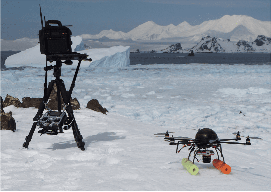 Seal-watch drone.