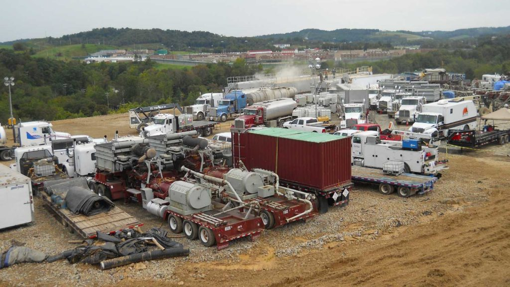 Hydraulic Fracturing Marcellus Shale.
