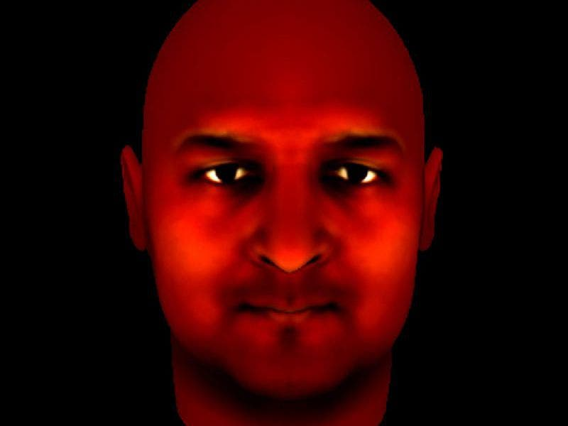 A participant in the trial created this avatar. Credit: King's College London.