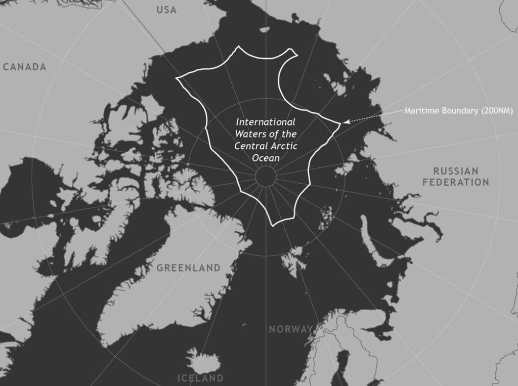 The area were fishing is banned by the moratarium covers 2.8m sq km. Credit: THE OCEAN CONSERVANCY.