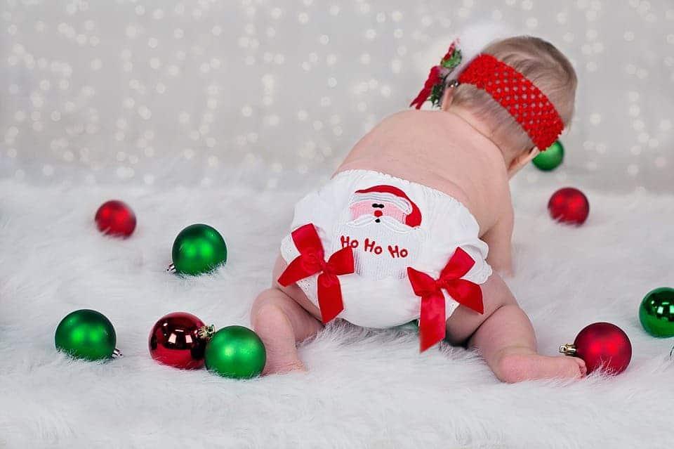 Christmas baby.