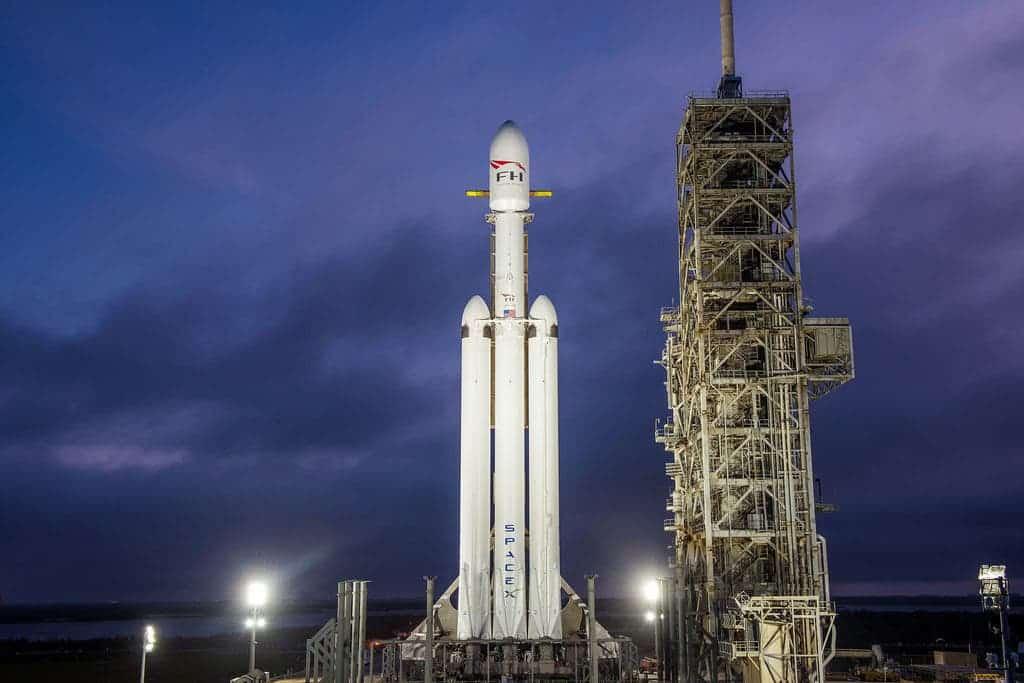 Falcon Heavy Rocket.