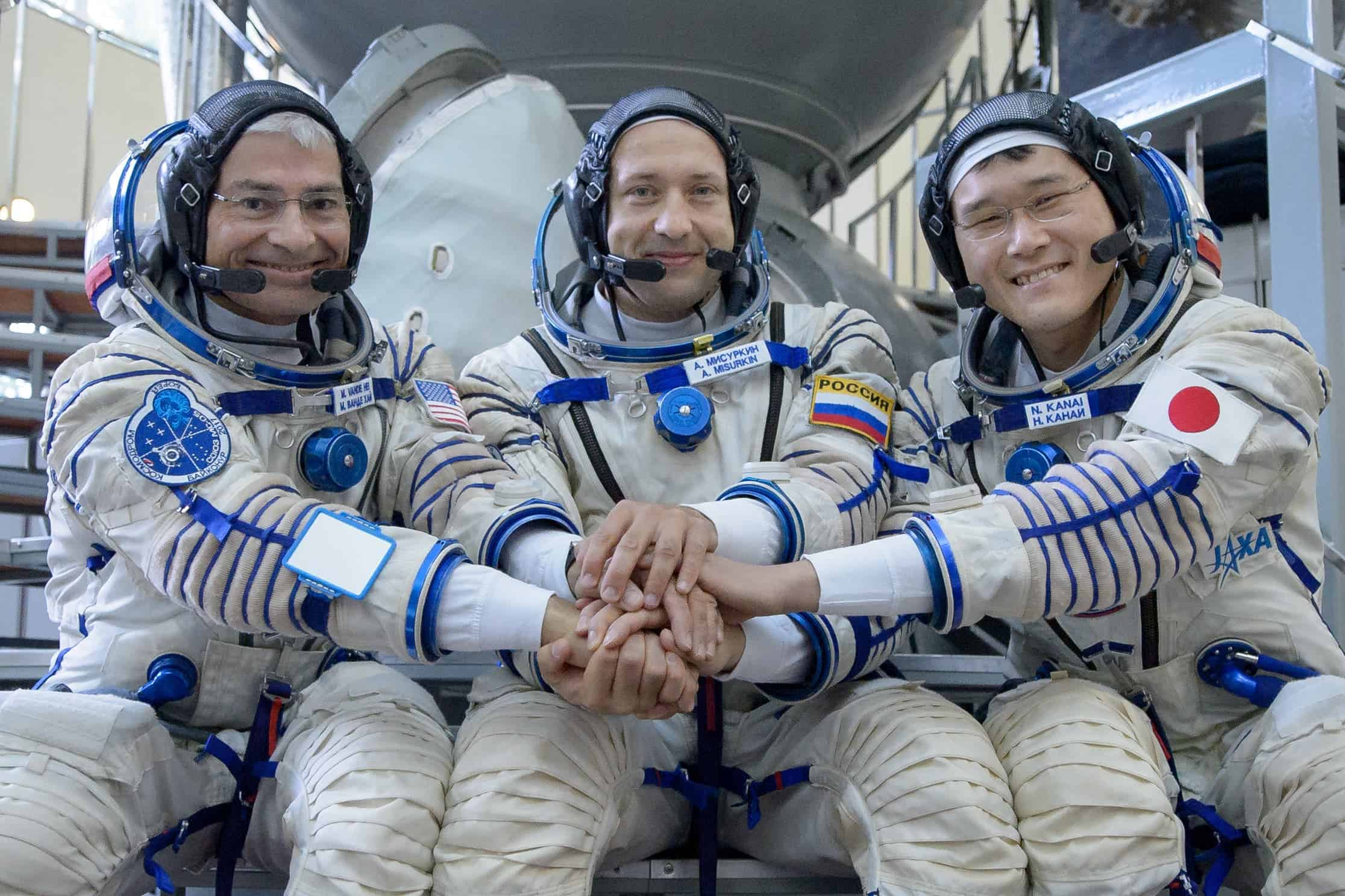 astronauts after being in space - photo #7