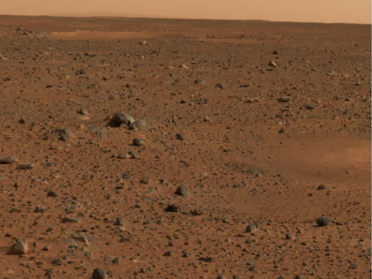 Martian soil. Credit: NASA.