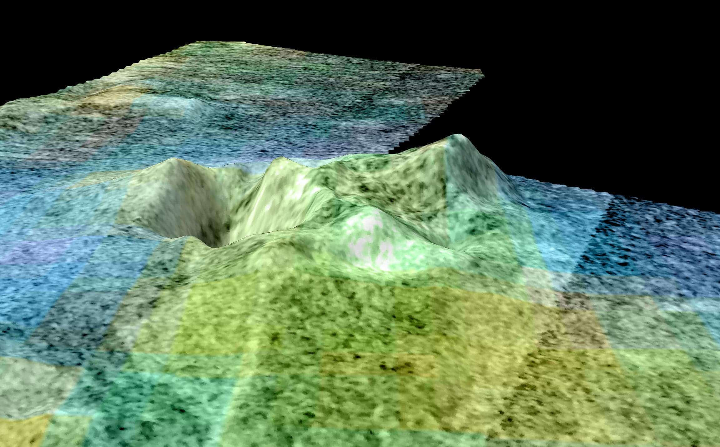 First Topographic Map Of Titan Reveals Surprisingly Earthlike - Earth topographic map