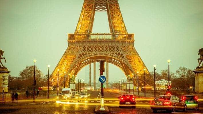 France Eiffel Tower.