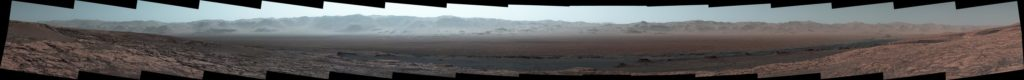Curiosity's Mastcam took the component images on Oct. 25, 2017. Credit: NASA/JPL-Caltech/MSSS