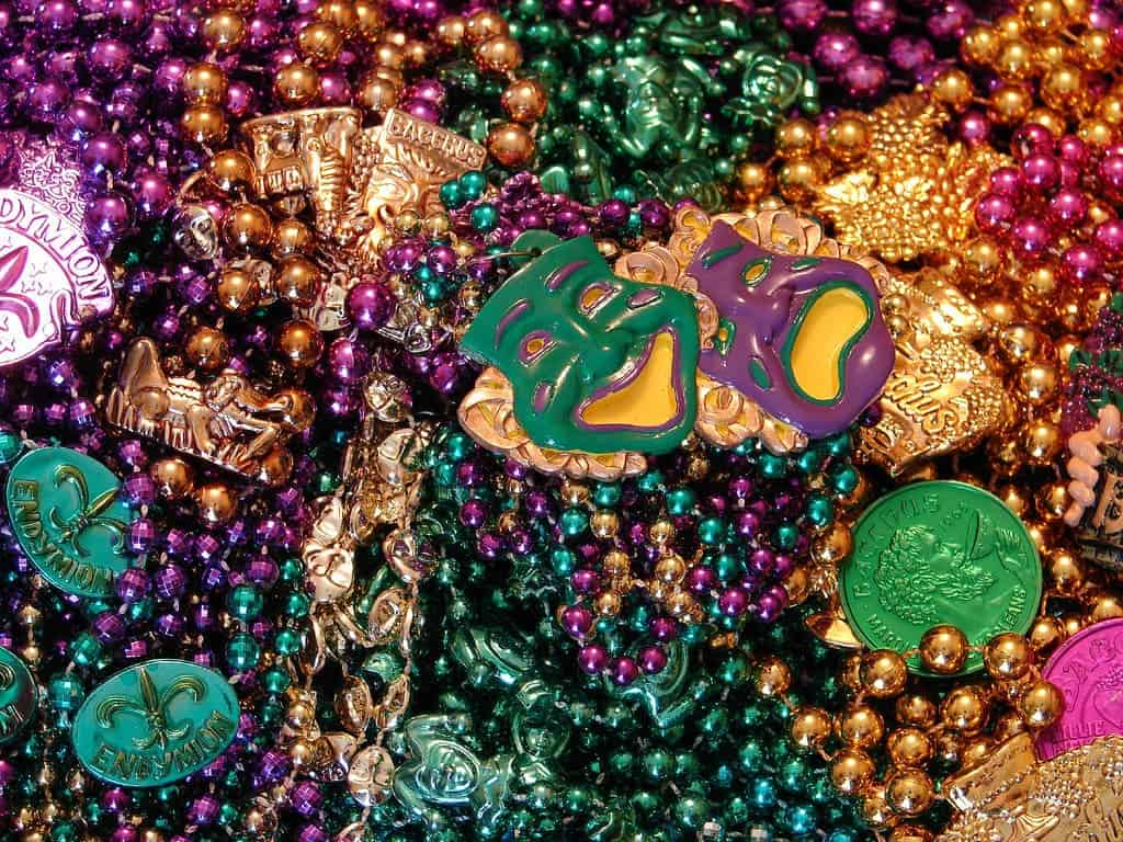 carnival mardi gras purple royalty green vector gold stock art beads in free and strings