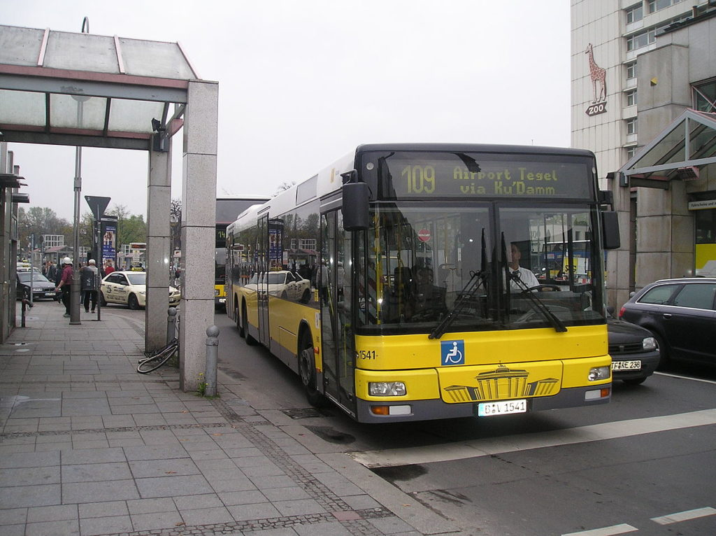 Berlin bus. Credit: Wikimedia Commons.