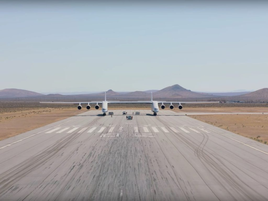 Credit; Stratolaunch, YouTube.