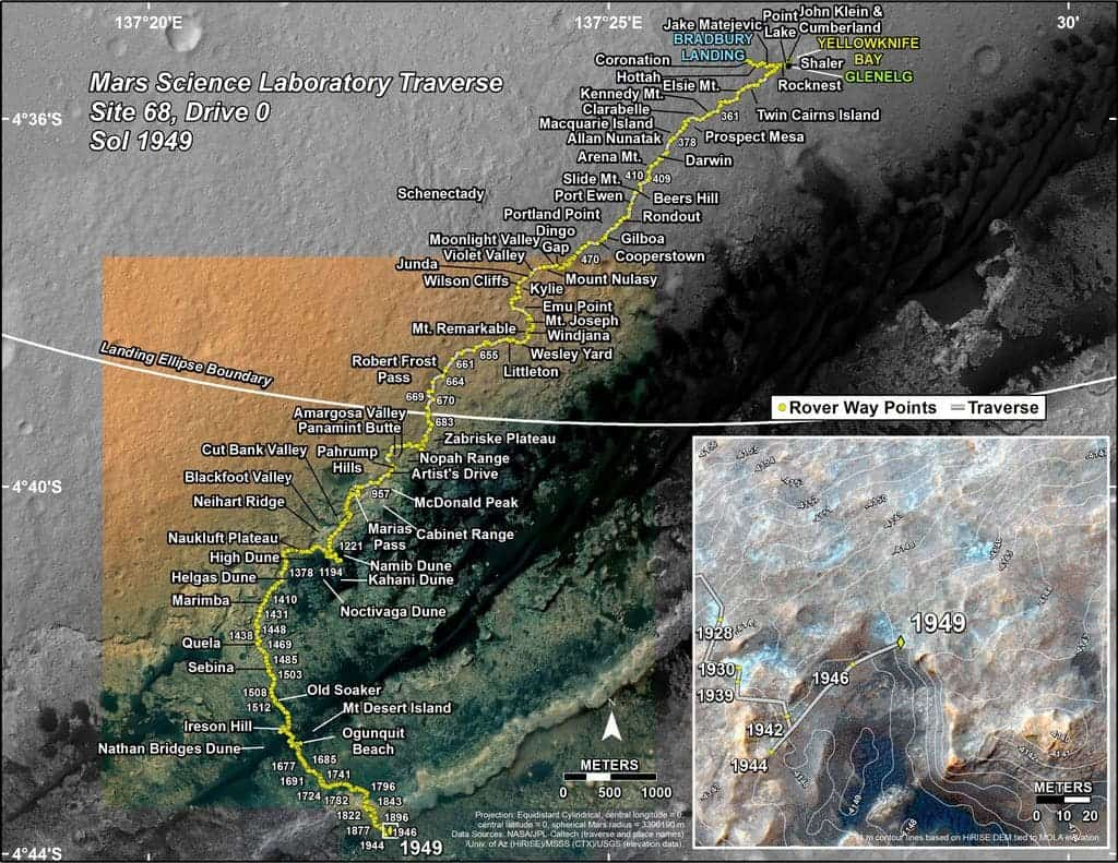 New panorama shows just how incredible Curiosity's journey has been on Mars