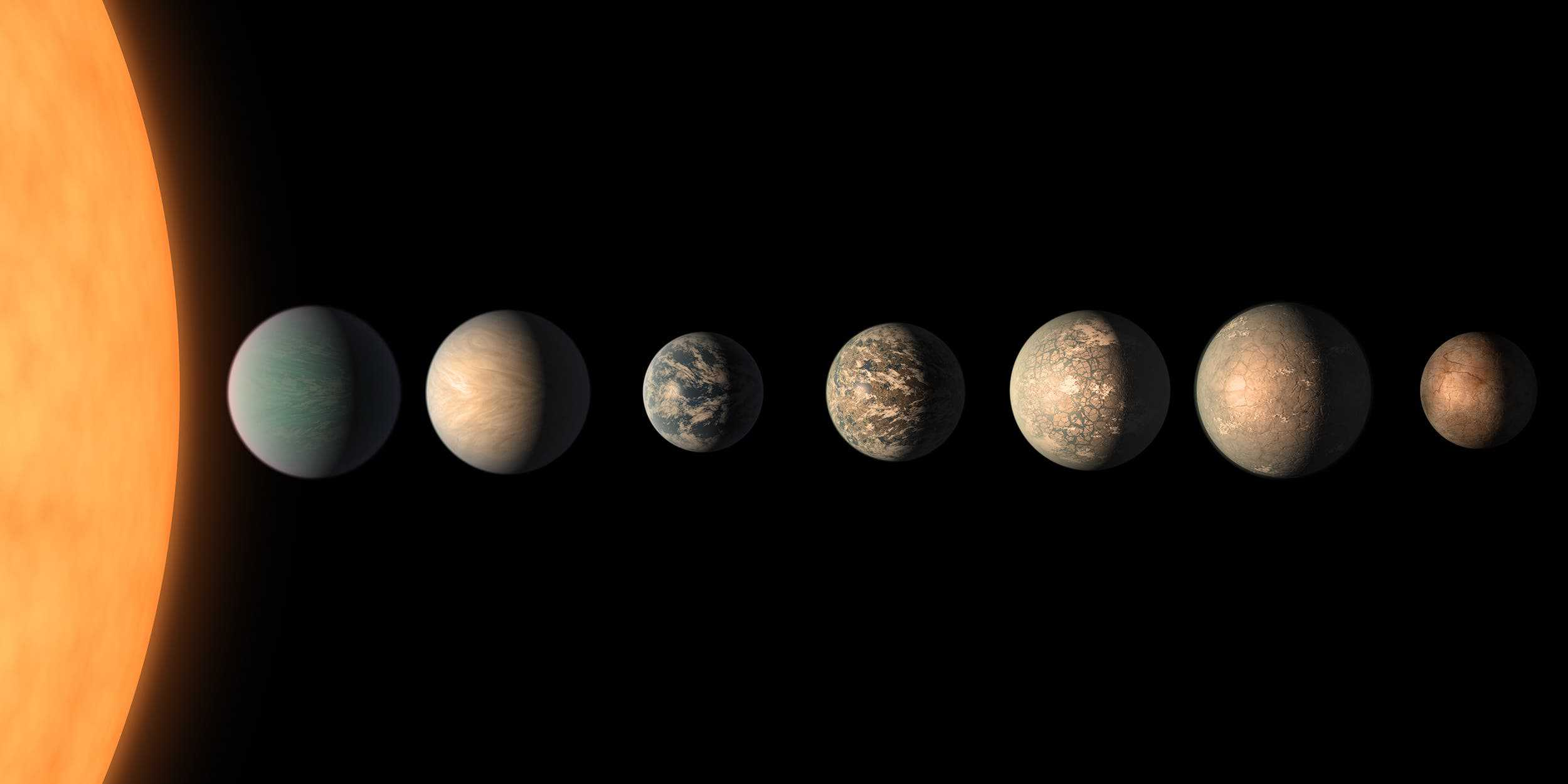New research shows that the TRAPPIST-1 planets are even ...