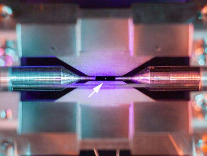 Scientists win photo contest with image of a single, trapped atom