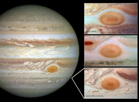 Jupiter's Great Red Spot may soon be a
