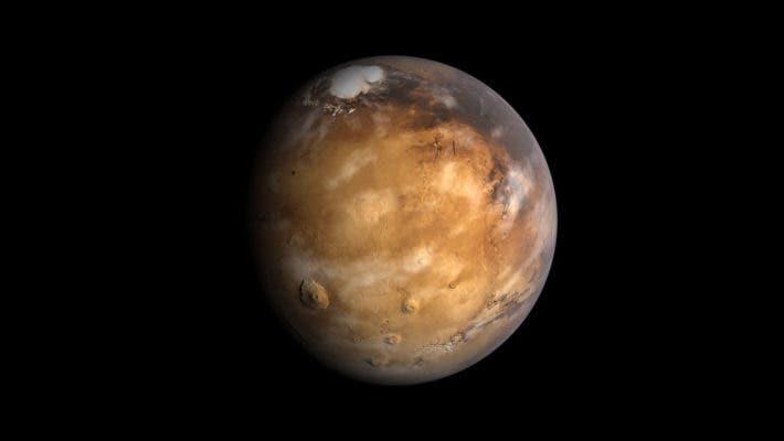 Mars render.
