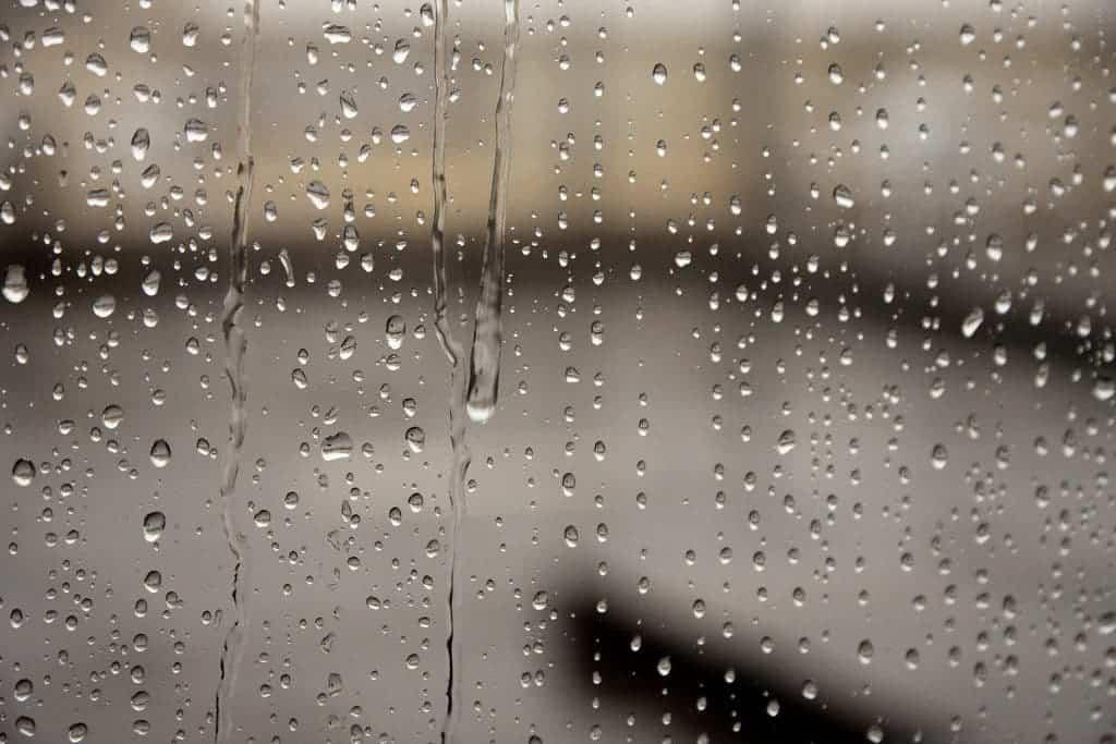 Rain window.