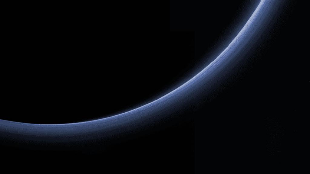 Pluto haze.