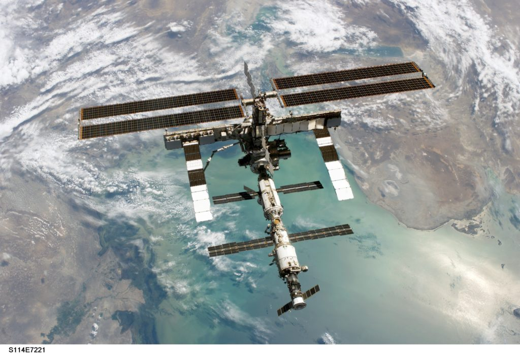 International Space Station.