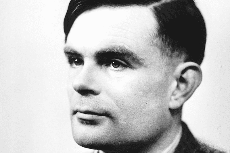 Alan Turing. Credit: Public Domain.