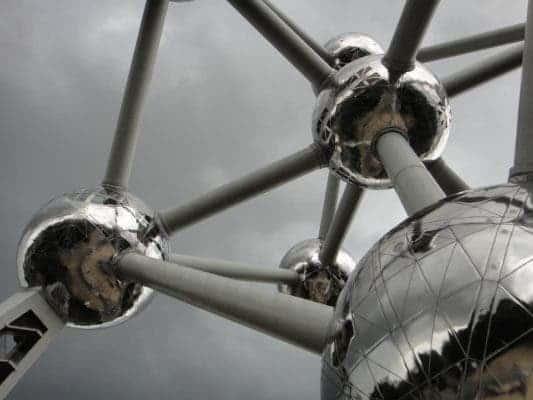 Atomium ball.