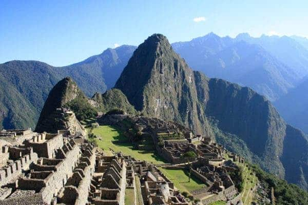 Machu Pichu, the 15th-century Inca citadel situated on a mountain ridge 2,430 metres (7,970 ft) above sea level. Credit: MaxPexel.
